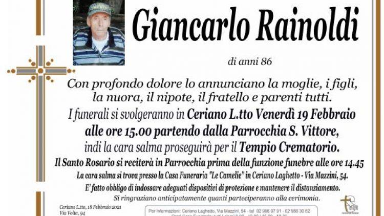 Rainoldi Giancarlo