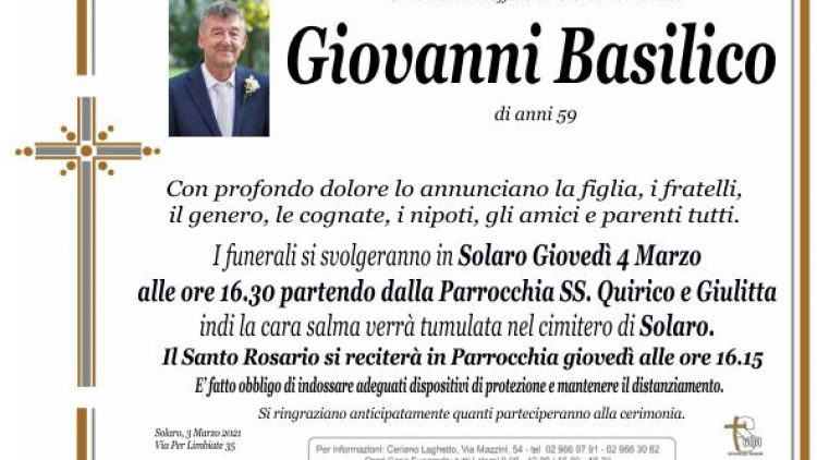 Basilico Giovanni
