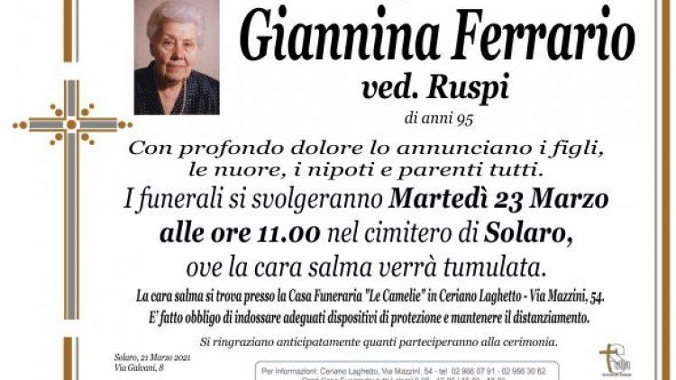 Ferrario Giannina