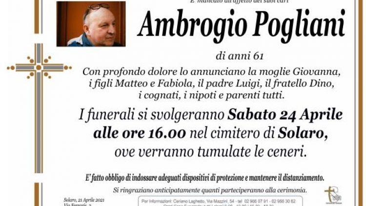 Pogliani Ambrogio
