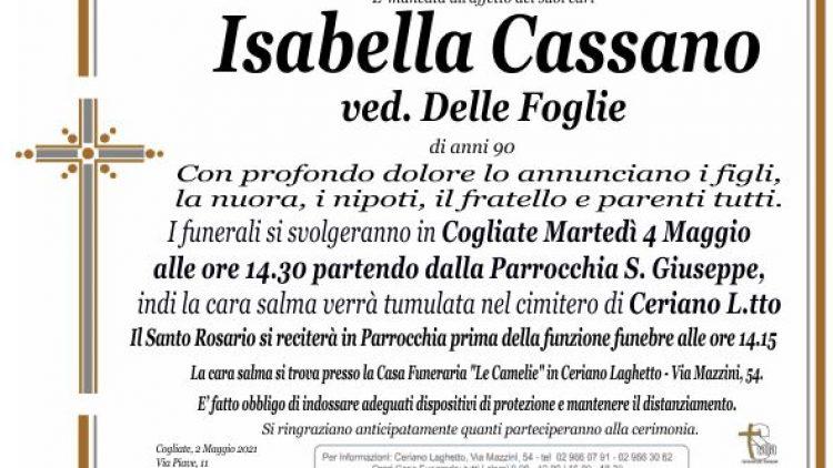 Cassano Isabella