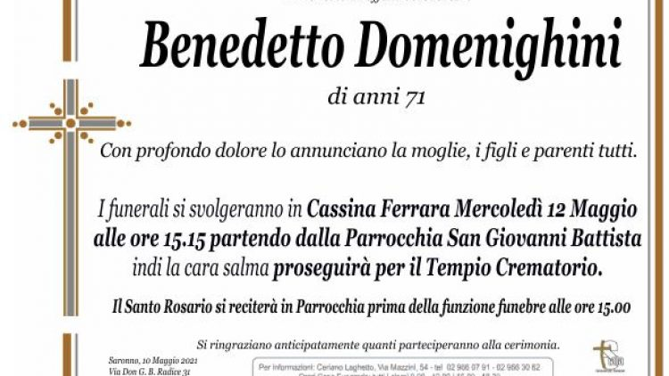 Domenighini Benedetto