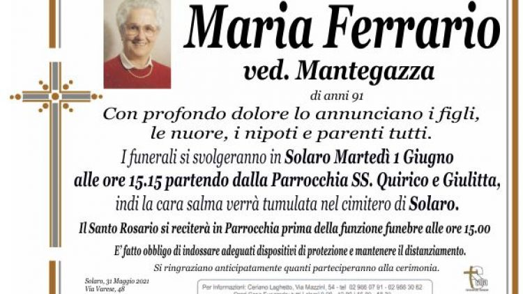 Ferrario Maria