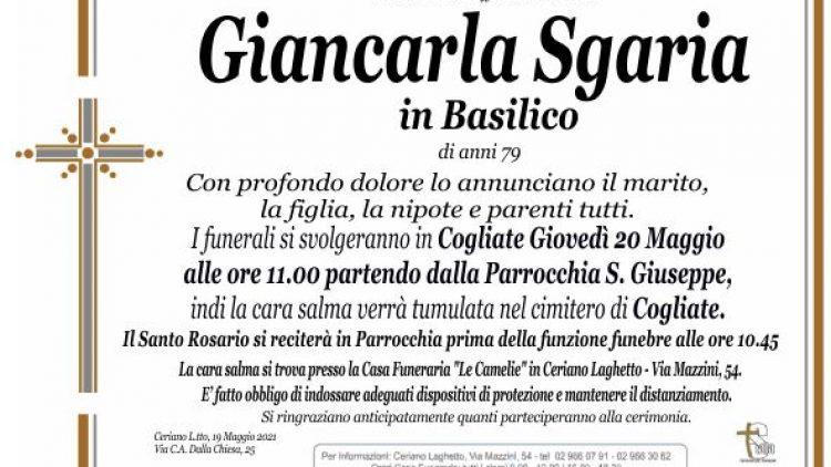 Sgaria Giancarla