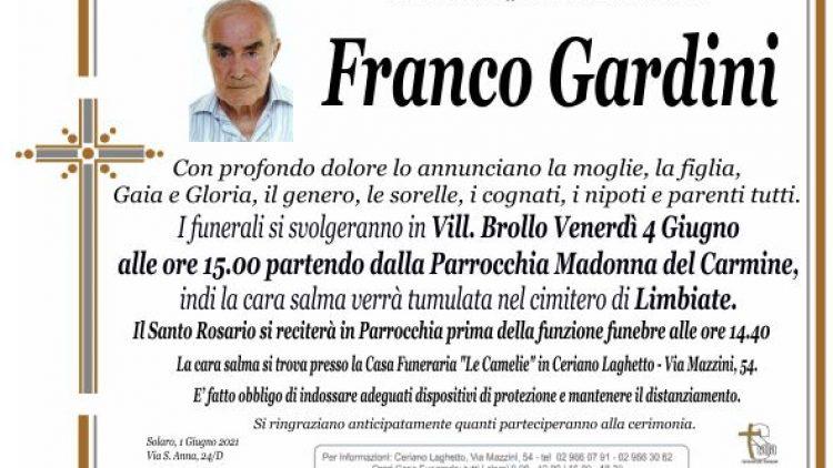 Gardini Franco
