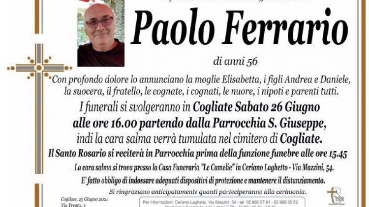 Ferrario Paolo