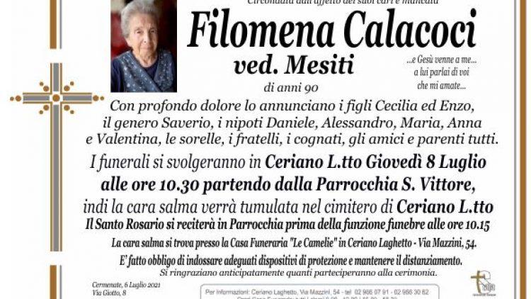 Calacoci Filomena
