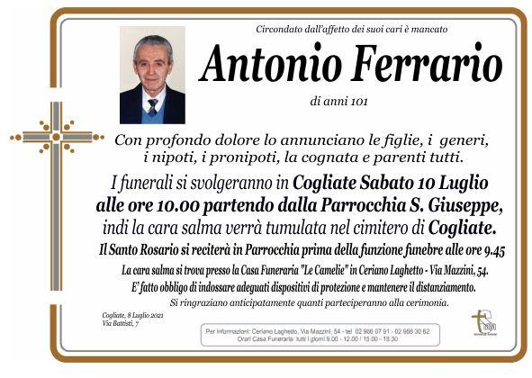 Ferrario Antonio
