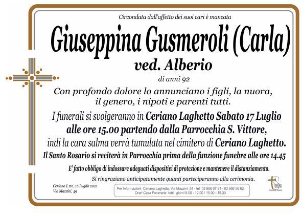 Gusmeroli Giuseppina