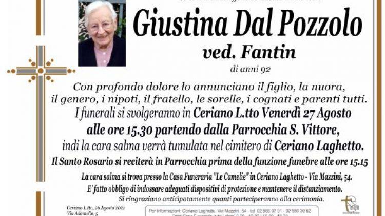 Dal Pozzolo Giustina