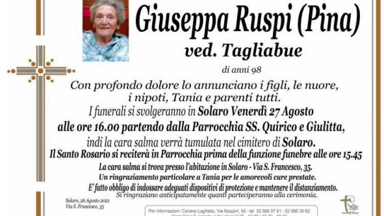Ruspi Giuseppa (Pina)