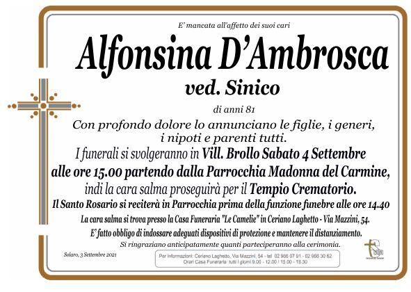 D'Ambrosca Alfonsina