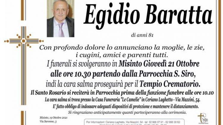 Baratta Egidio