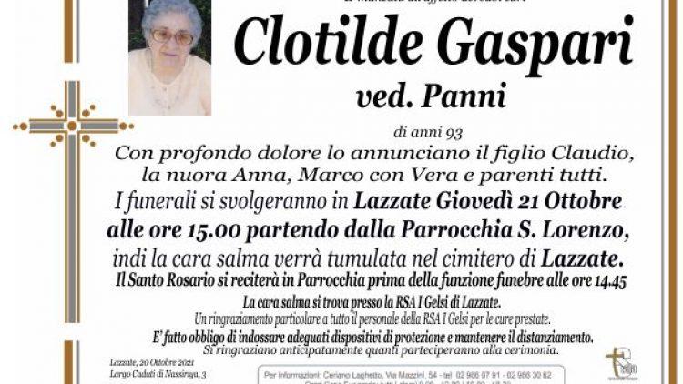 Gaspari Clotilde
