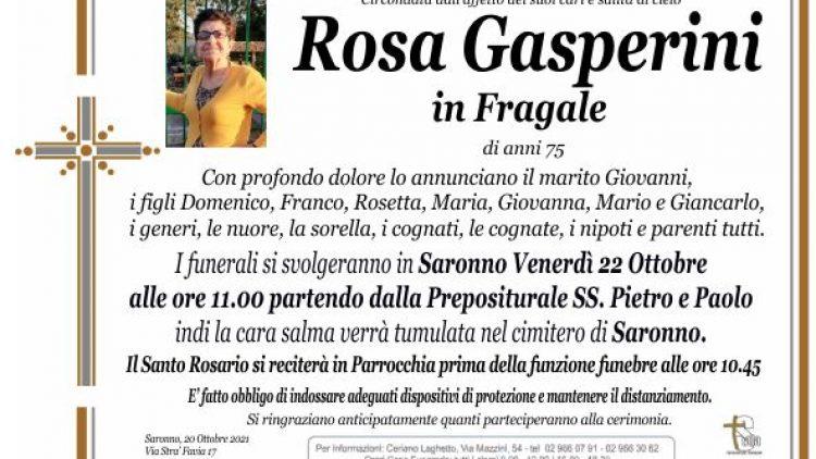 Gasperini Rosa