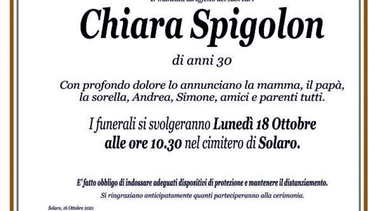 Spigolon Chiara