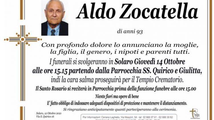 Zocatella Aldo